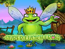 Счастливая Супер Лягушка