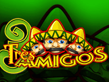 Tres Amigos от Playtech для онлайн досуга